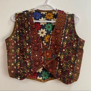 Ethnic Crop Jacket